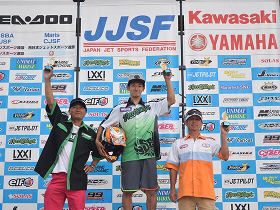 JJSF 2016 R7 PRO SKI OPEN 表彰式