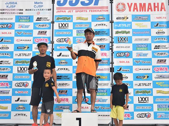 JJSF 2016 R7 B SKI LTD 表彰式