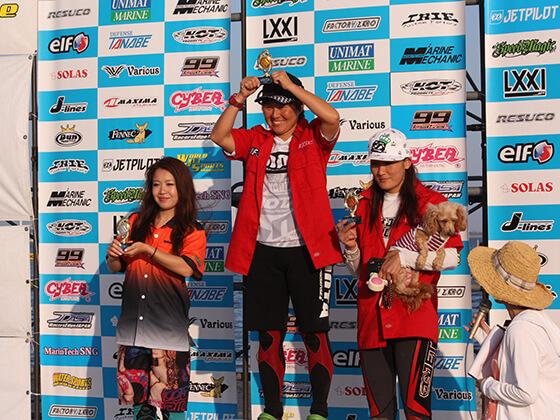 JJSF 2016 R6 PRO W SKI 表彰式