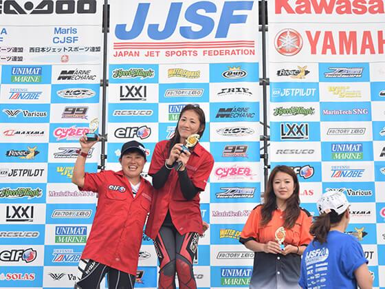 JJSF 2016 R7 PRO W SKI 表彰式