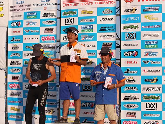 JJSF 2016 R6 BRP SPARK 表彰式