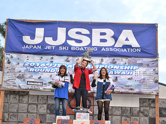 JJSBA 2016 R8 A WOMEN 表彰式
