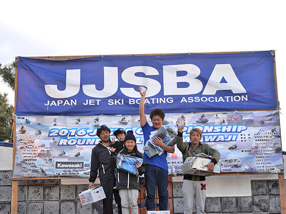 JJSBA 2016 R8 B RA 表彰式