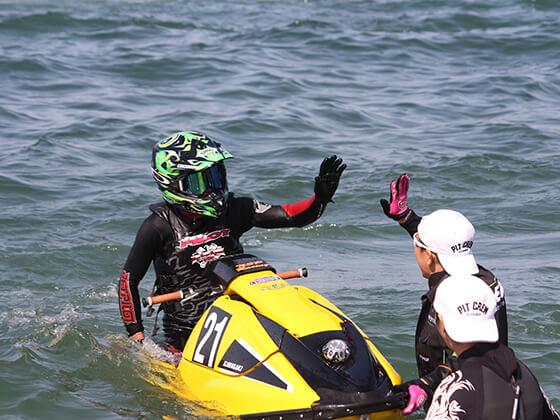 JJSBA 2016 R8 M SKI レースイメージ
