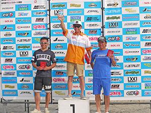JJSF 2017 R-3 AQUA SKI GP1 表彰式