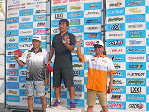 JJSF 2017 R-5 AQUA SKI GP1 表彰式