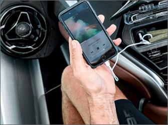 Bluetooth接続にてデッキ上で音楽を楽しむことが可能
