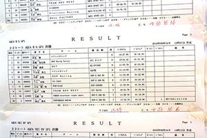 aquabike 2018 R-3 R/A GP1 リザルト
