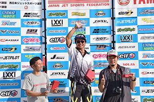 aquabike 2018 R-3 R/A GP1 表彰式