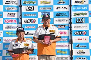 aquabike 2018 R-3 R/A1100 GP1 表彰式