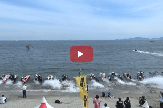 aquabike 2018 R-3 Pro SKI SLTD レース動画