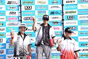 aquabike 2018 R-3 SKI DV GP1 表彰式