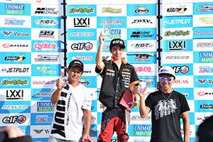 aquabike 2018 R-3 SPORTS GP1 表彰式