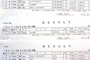 JJSF 2018 R-5 B R/A STK リザルト