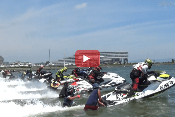 aquabike 2018 R-4 Pro R/A SLTD レース動画