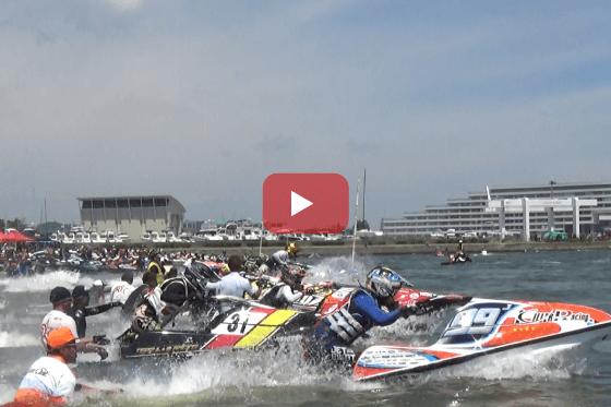 aquabike 2018 R-4 Pro SKI SLTD レース動画