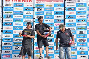 aquabike 2018 R-4 R/A GP1 表彰式