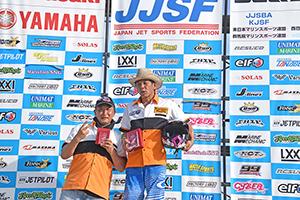 aquabike 2018 R-4 R/A1100 GP1 表彰式
