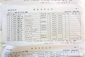 aquabike 2018 R-4 SKI DV GP1 リザルト