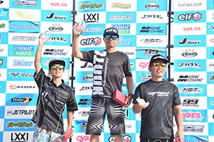 aquabike 2018 R-4 SKI DV GP1 表彰式