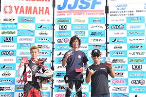 aquabike 2018 R-4 SPORTS GP1 表彰式