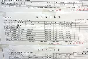JJSF 2018 R-7 A SKI SLTD リザルト
