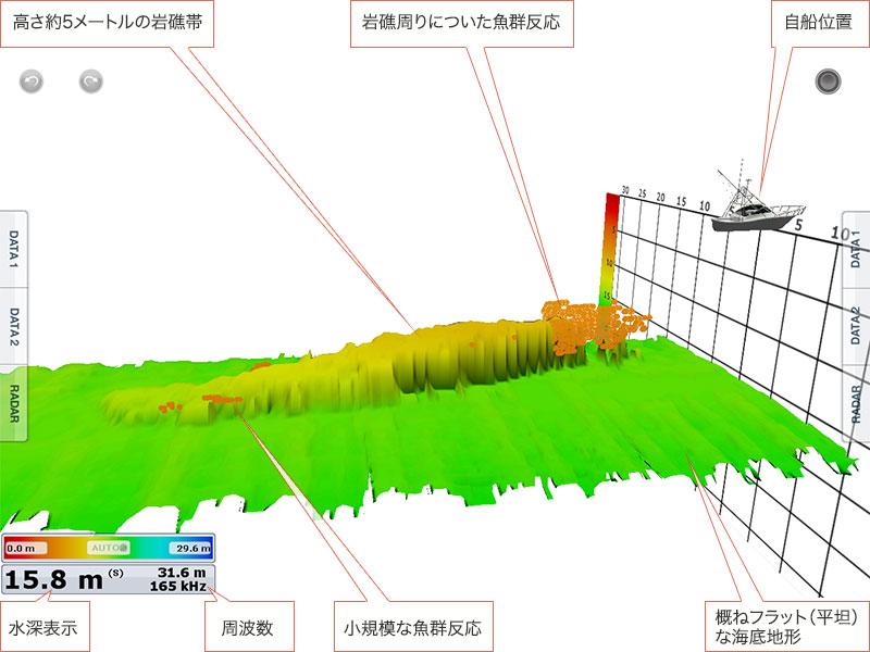 フルノスタイル「アオリイカを追うVol.6」3D画像