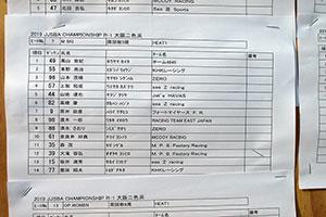 JJSBA 2019 R-1 M SKI リザルト(HEAT1)