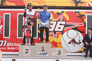 JJSF 2019 R-1 M SKI SLTD 表彰式