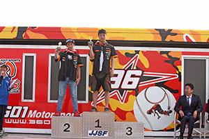 JJSF R-1 R/A 1100 STK(2st 800cc) 表彰式