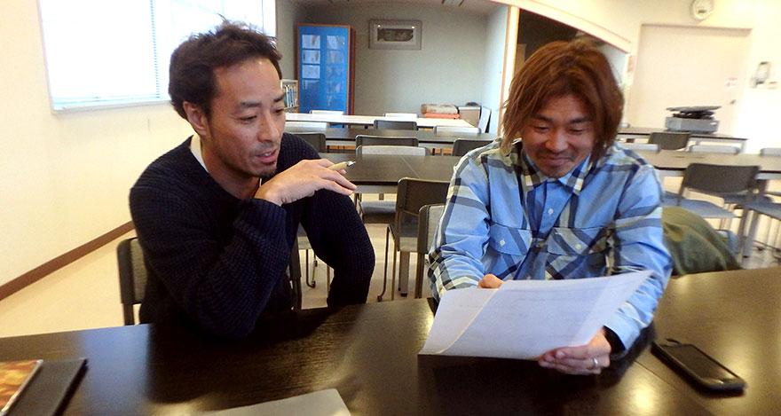 製造事業部の三浦さんとオニール部門の堀川さん