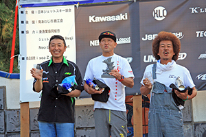 JJSBA 2018  R-6 M SKI 表彰式